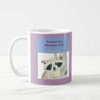 Treasure in a Mountain Cave Mug, Purple Coffee Mug