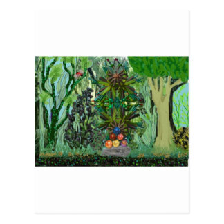 treasure in the jungle postcard