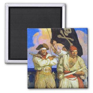 Treasure Island 2 Magnet
