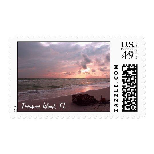 Treasure Island, Florida Postage