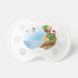 Treasure Island Pacifier