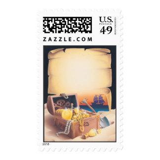 Treasure Island © Postage Stamp