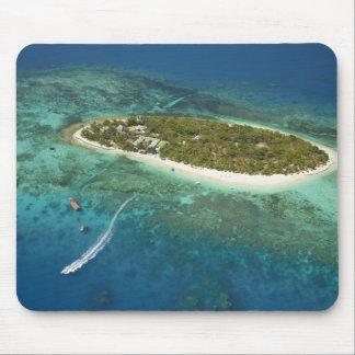 Treasure Island Resort and boat, Fiji Mouse Pads