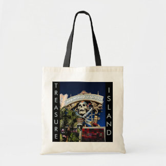 Treasure Island Sign Budget Tote Bag