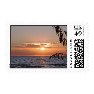 Treasure Island Sunset Postage, Version B Postage