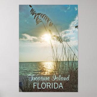 Treasure Island Sunset Print, Version B