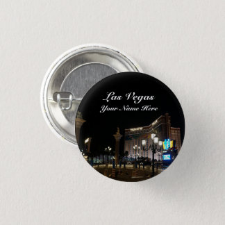 Treasure Island & The Venetian Pinback Button