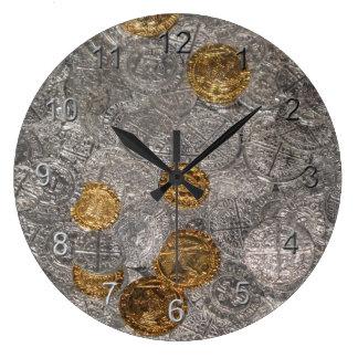 Treasure Large Clock