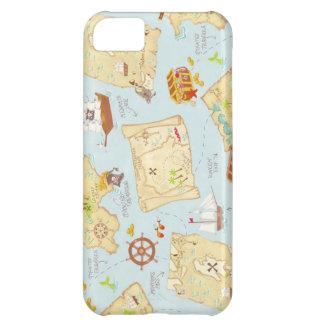 Treasure Map Case For iPhone 5C
