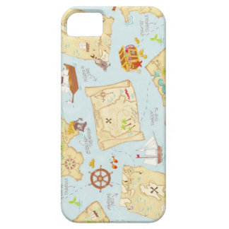 Treasure Map iPhone SE/5/5s Case