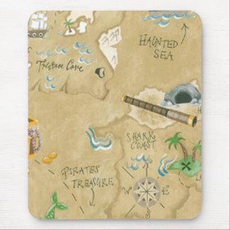 Treasure Map Mouse Pad