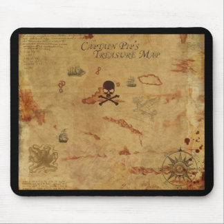 Treasure Map / Pirate Mousepad