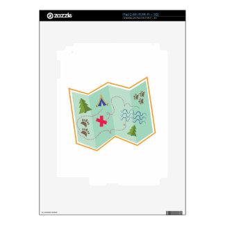 Treasure Map Skins For iPad 2