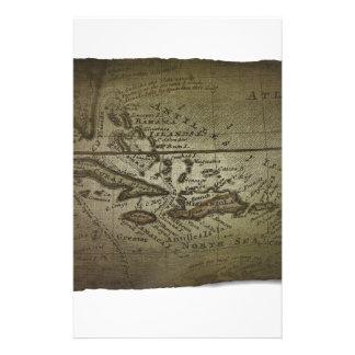 Treasure Map Stationery