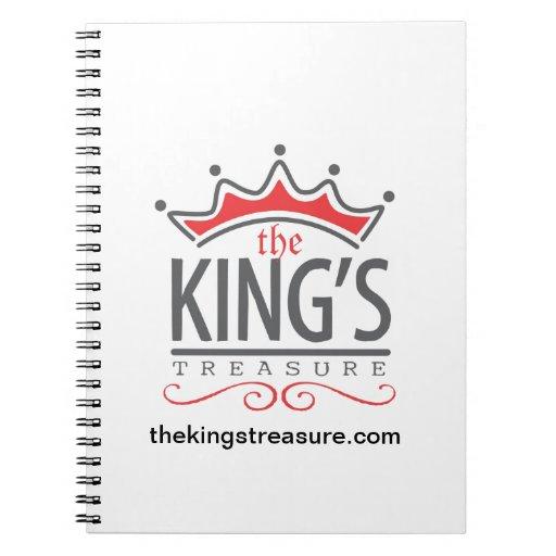 Treasure Official Merchandise Store del rey Cuaderno