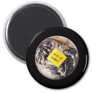 Treasure Our Planet 2 Inch Round Magnet