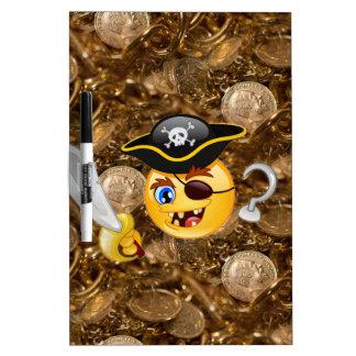 treasure pirate emoji Dry-Erase board