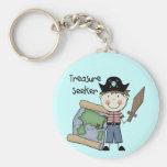Treasure Seeker - Boy Tshirts and Gifts Key Chain