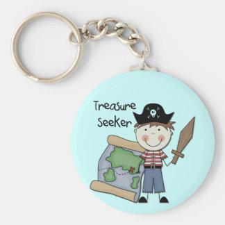 Treasure Seeker - Boy Tshirts and Gifts Keychain