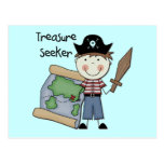 Treasure Seeker - Boy Tshirts and Gifts Postcard