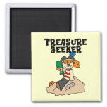 Treasure Seeker T-shirts and Gifts Refrigerator Magnets