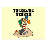 Treasure Seeker T-shirts and Gifts Post Card