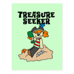 Treasure Seeker T-shirts and Gifts Post Cards