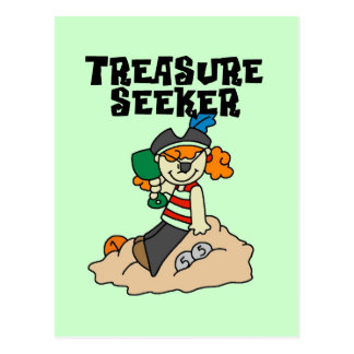 Treasure Seeker T-shirts and Gifts Postcard