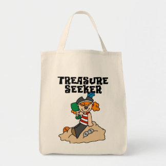 Treasure Seeker T-shirts and Gifts Tote Bag