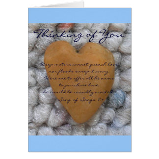 "Treasure... ""Thinking of You"" Card"