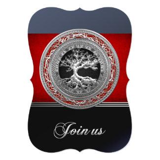 Treasure Trove: Silver Celtic Tree of Life Card
