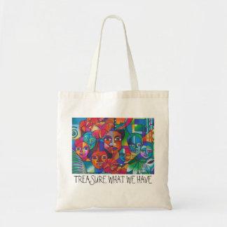"""""""TREASURE WHAT WE HAVE"""" BAG"""