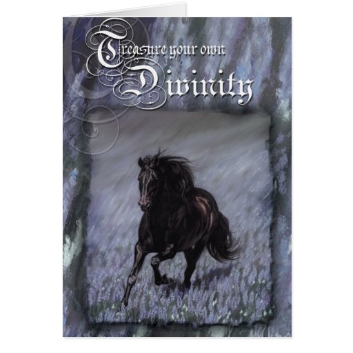 Treasure your own Divinity Greeting Cards