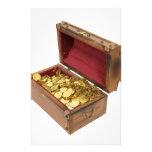 TreasureChestGold100309 Custom Stationery