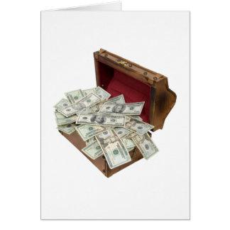 TreasureChestMoney100309 Tarjeta De Felicitación