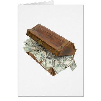 TreasureChestMoneyOpening100309 Tarjeta De Felicitación