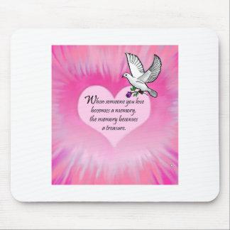 """Treasured Memories"""" Bird Mouse Pad"""