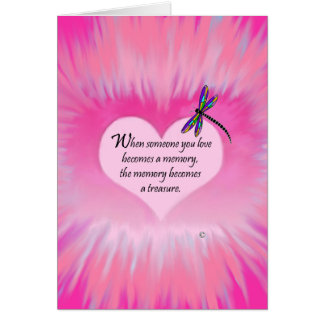 Treasured Memories Dragonfly Card