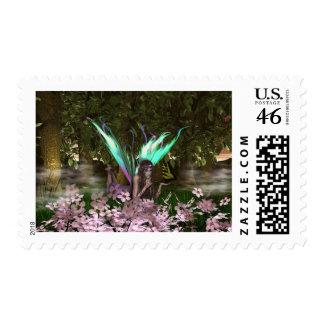 Treasured Moments Postage Stamp