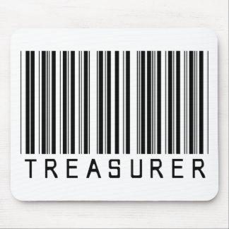 Treasurer Barcode Mouse Pad