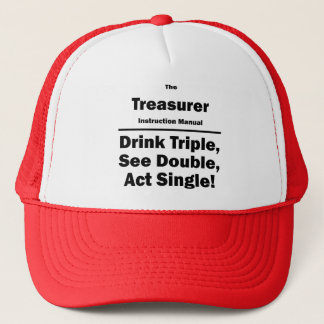 treasurer trucker hat