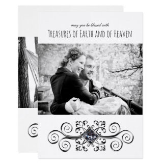 Treasures of Earth and Heaven Photo Holiday Card