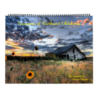 Treasures of Northeast Oklahoma - 12 Month Calenda Calendar