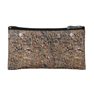 Treasures of the forest cosmetic bag
