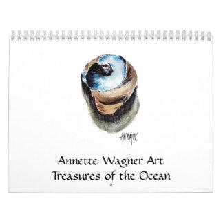Treasures of the Ocean 2015 Calendar
