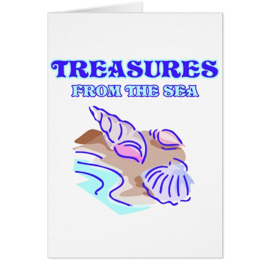 Treasures of the Sea Card