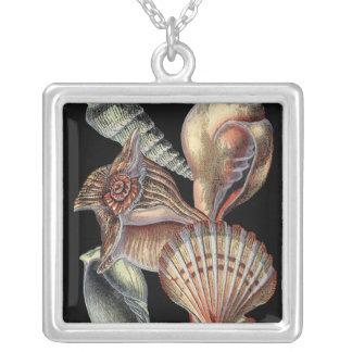 Treasures of the Sea Silver Plated Necklace