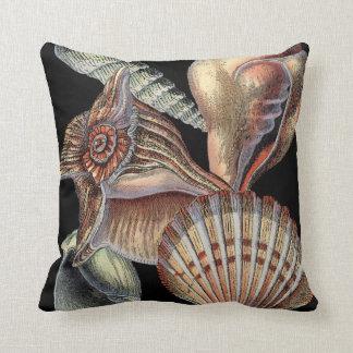 Treasures of the Sea Throw Pillow
