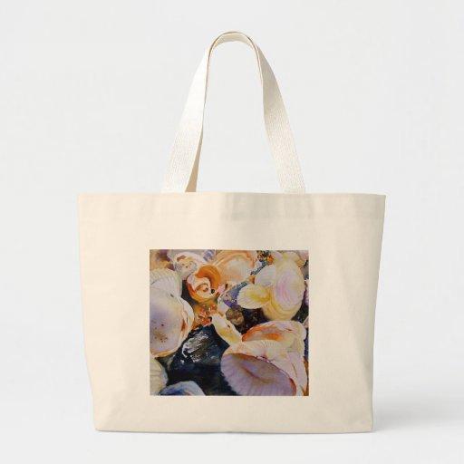 Treasures of the Sea tote Canvas Bags