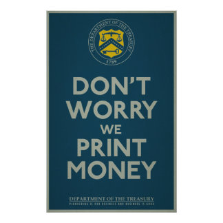 Treasury Department Parody Print